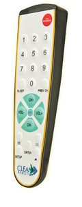 7-15/16 in. Spillproof TV Remote Control