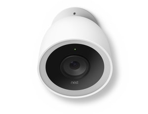 15/100/240V Outdoor Security Camera in White