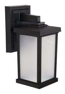 BLAC 9.5W LED WM EXT SCONCE