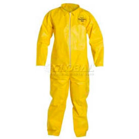 QC120SYLXL001200 Dupont; Tychem; QC Disposable Coverall with Open Ended Wrists/Ankles, XL, 12/Case