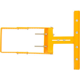 "SPG-26-Y Spring-Loaded Safety Gate 16""-26""W Opening Yellow"