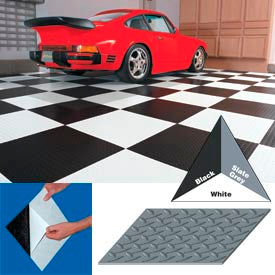 "vinyl tile matting with adhesive 24""x24"" diamond pattern black case of 10 Vinyl Tile Matting With Adhesive 24""x24"" Diamond Pattern Black case of 10"