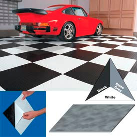 "vinyl tile matting with adhesive 24""x24"" levant pattern black case of 10 Vinyl Tile Matting With Adhesive 24""x24"" Levant Pattern Black Case of 10"