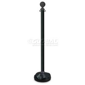 "UVCCP47A Economic 47"" Black Poly Post"