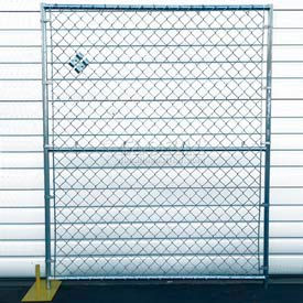RF1020-CL Chain Link Fence, Powder Coat Finish - 5Wx6H 12 Panel Kit