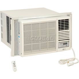 653538-LG Window Air Conditioner w/ Remote Control LW2416HR, 23,000 BTU Cool 9,400/11,600 BTU Heat