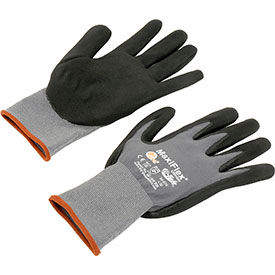 34-874/M PIP; MaxiFlex; Ultimate; Nitrile Coated Knit Nylon Gloves, Medium, 12 Pairs