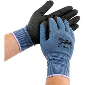 34-500/XL PIP G-Tek; Nitrile MicroSurface Nylon Grip Gloves, 12 Pairs/DZ, X-Large