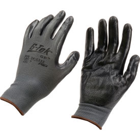 34-C232/L PIP; G-Tek; GP; Nitrile Coated Nylon Grip Gloves, Large, 12 Pairs