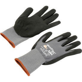 34-874/L PIP MaxiFlex; Ultimate; Nitrile Coated Knit Nylon Gloves, Large, 12 Pairs
