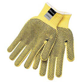 9366XL Kevlar; Two-Sided PVC Dots Gloves, MCR Safety, X-Large, 1-Pair, 9366XL