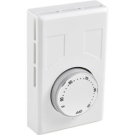 PT-028 Thermostat, Heat Only, Line Voltage, Double Pole, With Off Position
