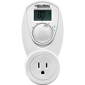 T33UL Plug In Thermostat Control For Heat 120V, Analog 40-95;F