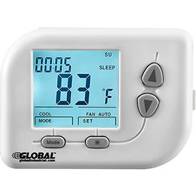 WT010 Non-Programmable Thermostat, Heat, Cool, Off, Auto, 24 VAC