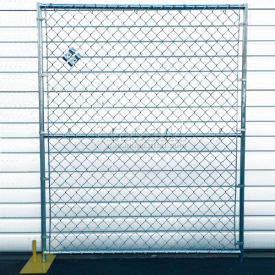 chain link fence, powder coat finish - 5wx6h 8 panel kit Chain Link Fence, Powder Coat Finish - 5Wx6H 8 Panel Kit