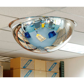 "full dome acrylic mirror, indoor, 36"" dia., 360° viewing angle Full Dome Acrylic Mirror, Indoor, 36"" Dia., 360° Viewing Angle"