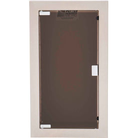 "potter roemer buena steel fire extinguisher cabinet, full acrylic window, semi-recessed, 5""d Potter Roemer Buena Steel Fire Extinguisher Cabinet, Full Acrylic Window, Semi-Recessed, 5""D"