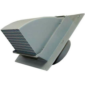 EX-WCHD 06 Speedi-Products Heavy Duty Wall Cap EX-WCHD 06 Gray 6""