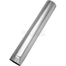 "SM-2860GR 14 Speedi-Products Galvanized SM-2860GR 14 Round Sheet Metal Pipe 28 GA 14"" X 60"""