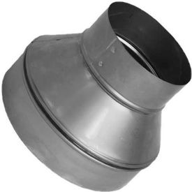 "SM-RDP 75 Speedi-Products Galvanized Plain Reducer SM-RDP 75 7"" X 5"""