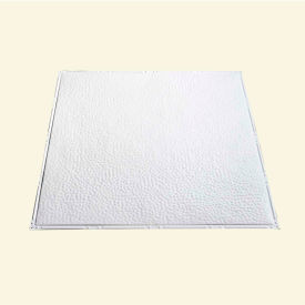 great lakes tin chicago 2 x 2 nail-up tin ceiling tile in matte white - t60-01 Great Lakes Tin Chicago 2 X 2 Nail-Up Tin Ceiling Tile in Matte White - T60-01