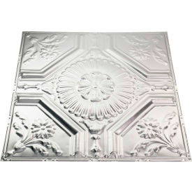 great lakes tin rochester 2 x 2 lay-in tin ceiling tile in clear - y58-04 Great Lakes Tin Rochester 2 X 2 Lay-in Tin Ceiling Tile in Clear - Y58-04