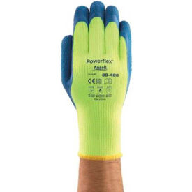 206421 Powerflex; Insulated Latex Coated Gloves, Ansell 80-400-10, 1-Pair