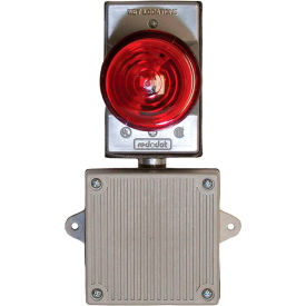 remote audible/visual strobe alarm for panel mounted filtration units, 120 vac, almsth120 Remote Audible/Visual Strobe Alarm for Panel Mounted Filtration Units, 120 VAC, ALMSTH120