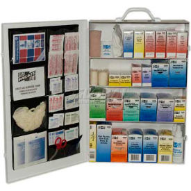 6175 Pac-Kit; 4-Shelf Industrial First Aid Station