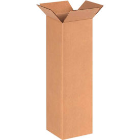 "6620 Tall Cardboard Corrugated Boxes 6"" x 6"" x 20"" 200#/ECT-32"