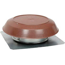 355BR Broan 355BR Roof Mounted Powered Attic Ventilator With Brown PVC Dome - 1200 CFM