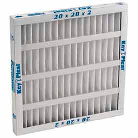 "5251007125 Purolator; 5251007125 Self Supported Pleated Filter 20""W x 20""H x 1""D"