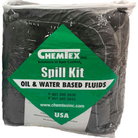 SKB-U Chemtex SKB-U Truck Spill Kit, Universal, 5-Gallon, Zipper Bag