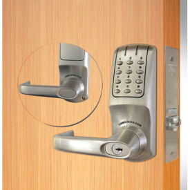 codelocks electronic lockset, grade 1 ul mortise lock chassis, cl5250-bs, brushed steel Codelocks Electronic Lockset, Grade 1 UL Mortise Lock Chassis, CL5250-BS, Brushed Steel