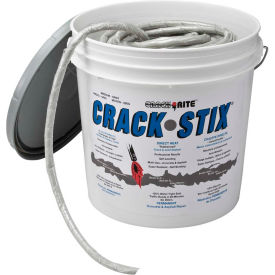 "crack stix™ 125 ft. medium 1/2"" permanent concrete joint & crack filler - 2051 Crack Stix™ 125 FT. Medium 1/2"" Permanent Concrete Joint & Crack Filler - 2051"