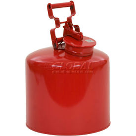 1425 Eagle Disposal Can Galvanized - Red - 5 Gallons, 1425