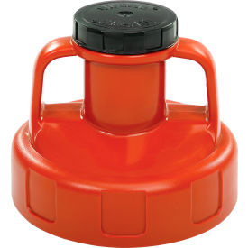 100206 Oil Safe Utility Lid, Orange, 100206