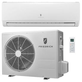 MM09YJ Friedrich Ductless Split System With Heat Pump MM09YJ - 9,000 BTU, 16 SEER, 115V