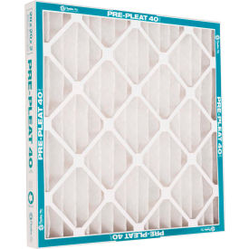 "80055.011625 Flanders 80055.011625 40 Standard Quality Pleated LPD Panel Filters, 25"" x 16"" x 1"", 12/Pack"