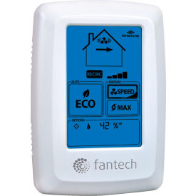fantech wall control eco-touch programmable electronic Fantech Wall Control ECO-Touch Programmable Electronic