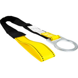 guardian 10715, 4 concrete anchor strap, loop & d-ring ends Guardian 10715, 4 Concrete Anchor Strap, Loop & D-Ring Ends