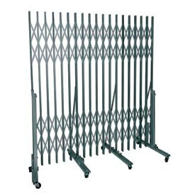 P601-12 Superior Heavy-Duty Portable Gate - 7' to 12' Openings