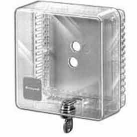 honeywell small universal thermostat guard clear cover clear base opaque wallplate tg510a1001 Honeywell Small Universal Thermostat Guard Clear Cover Clear Base Opaque Wallplate TG510A1001