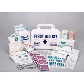 comfitwear® first aid kit for 15 people, plastic case