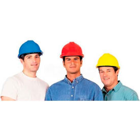 comfitwear® hard hat for head protection, polyethylene, red ComfitWear® Hard Hat For Head Protection, Polyethylene, Red