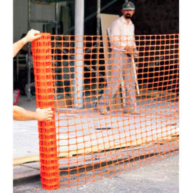 comfitwear® polyethylene safety fence, 4 x 50, orange ComfitWear® Polyethylene Safety Fence, 4 x 50, Orange
