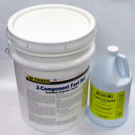 je tomes  c-215 2-component fast set concrete & patch repair, 40lb powder, 1 gallon polymer JE Tomes  C-215 2-Component Fast Set Concrete & Patch Repair, 40lb Powder, 1 Gallon Polymer
