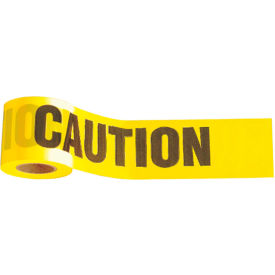 "3324 1,000 x 3"" Yellow ""Caution"" Tape, 1 Roll"