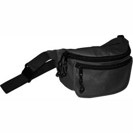 kemp fanny pack with screenprint guard, black, no logo, 10-103-blk-nl Kemp Fanny Pack With Screenprint Guard, Black, No Logo, 10-103-BLK-NL