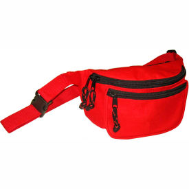 kemp fanny pack with screenprint guard, red, no logo, 10-103-red-nl Kemp Fanny Pack With Screenprint Guard, Red, No Logo, 10-103-RED-NL